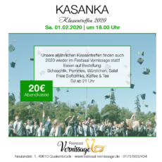 Klassentreffen Kasanka in Deutschland Quakenbrück 2020